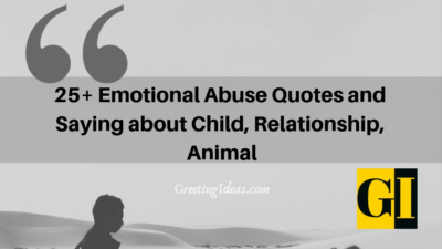 25+ Emotional Abuse Quotes and Saying about Child, Relationship, Animal
