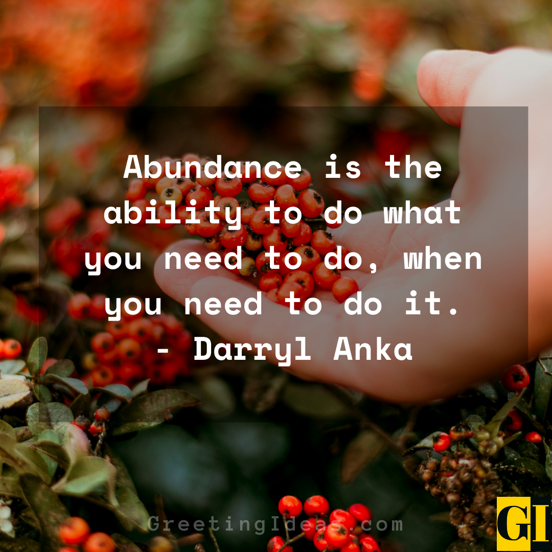 Abundance Quotes Greeting Ideas 3