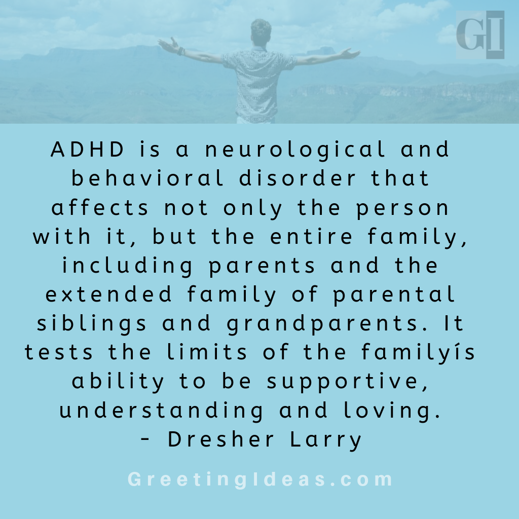 Most Inspirational ADHD Quotes and Sayings: ADHD Awareness Month