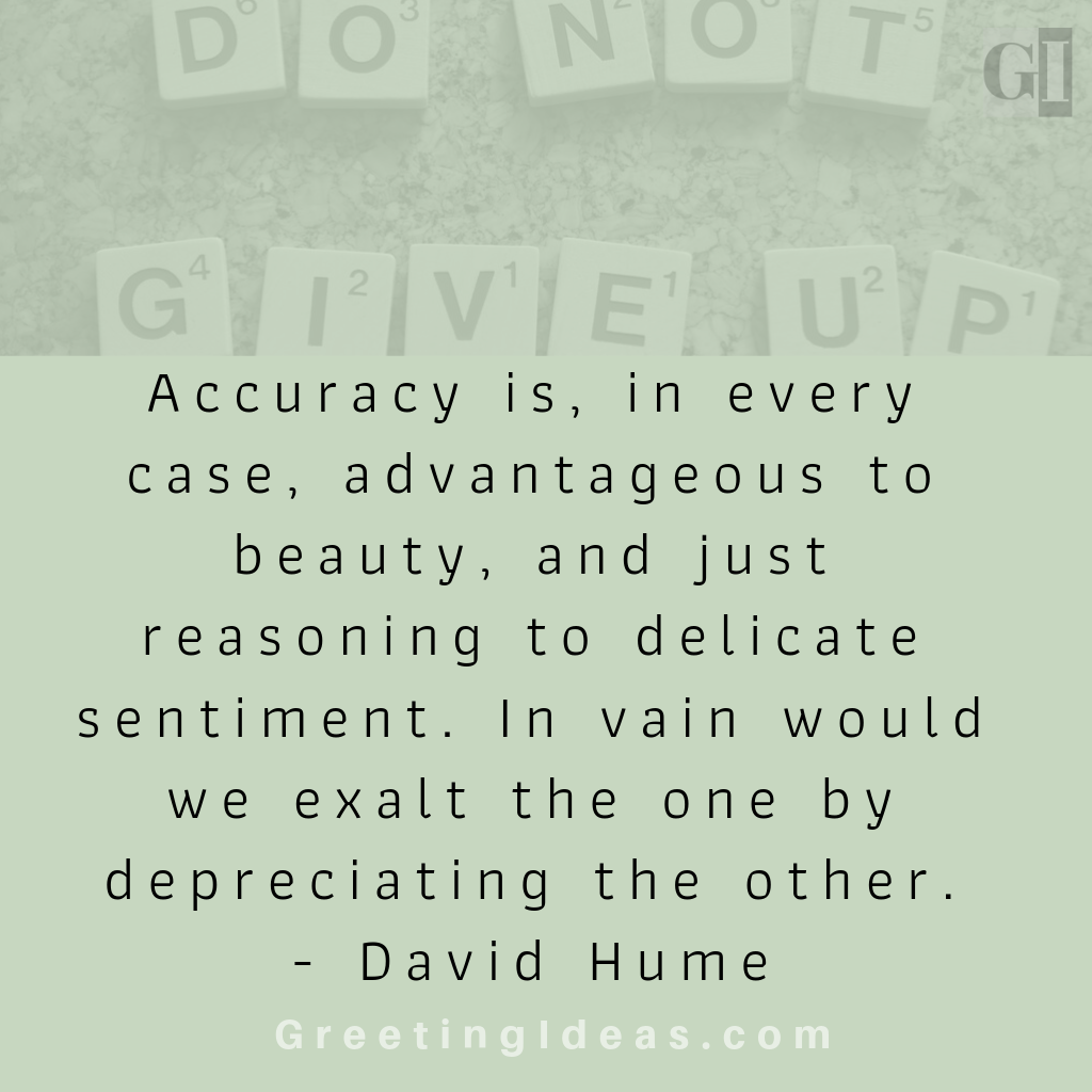 Inspiring Accuracy Quotes - Quotes on Accuracy to Strive for the Best