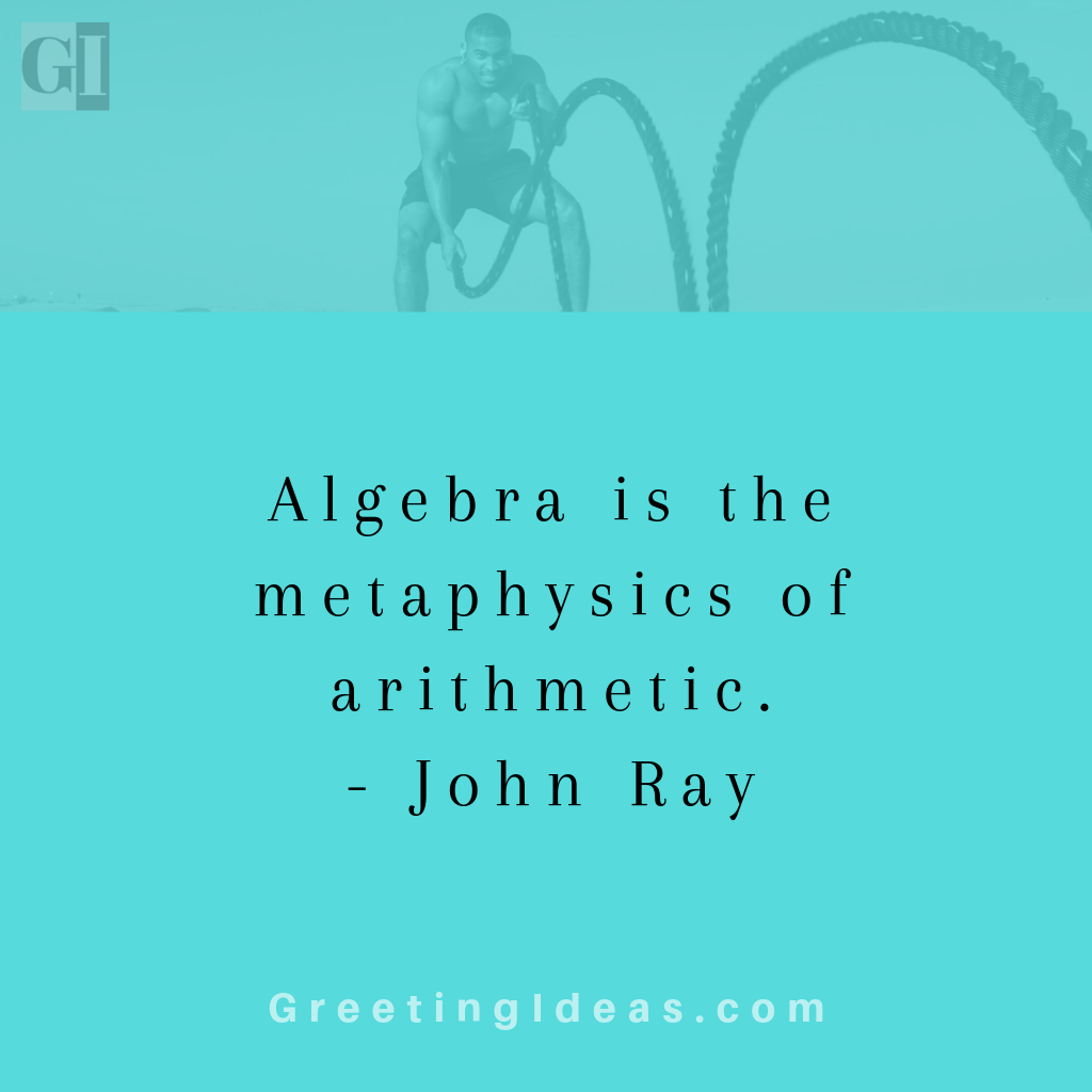 Famous Algebra Quotes and Sayings - Must Read Quotes on Algebra