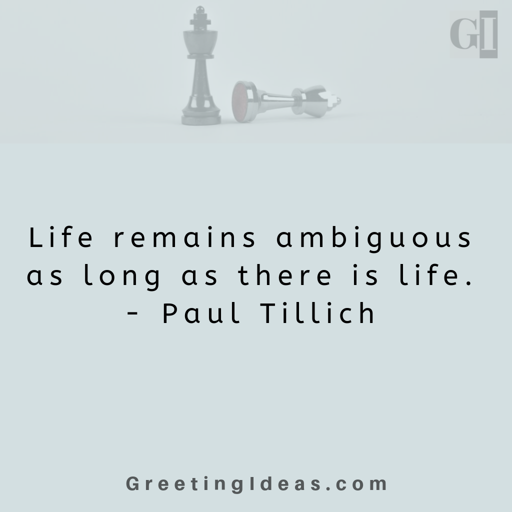 Famous Ambiguous Quotes on Literature, Relationship, Love and Loss