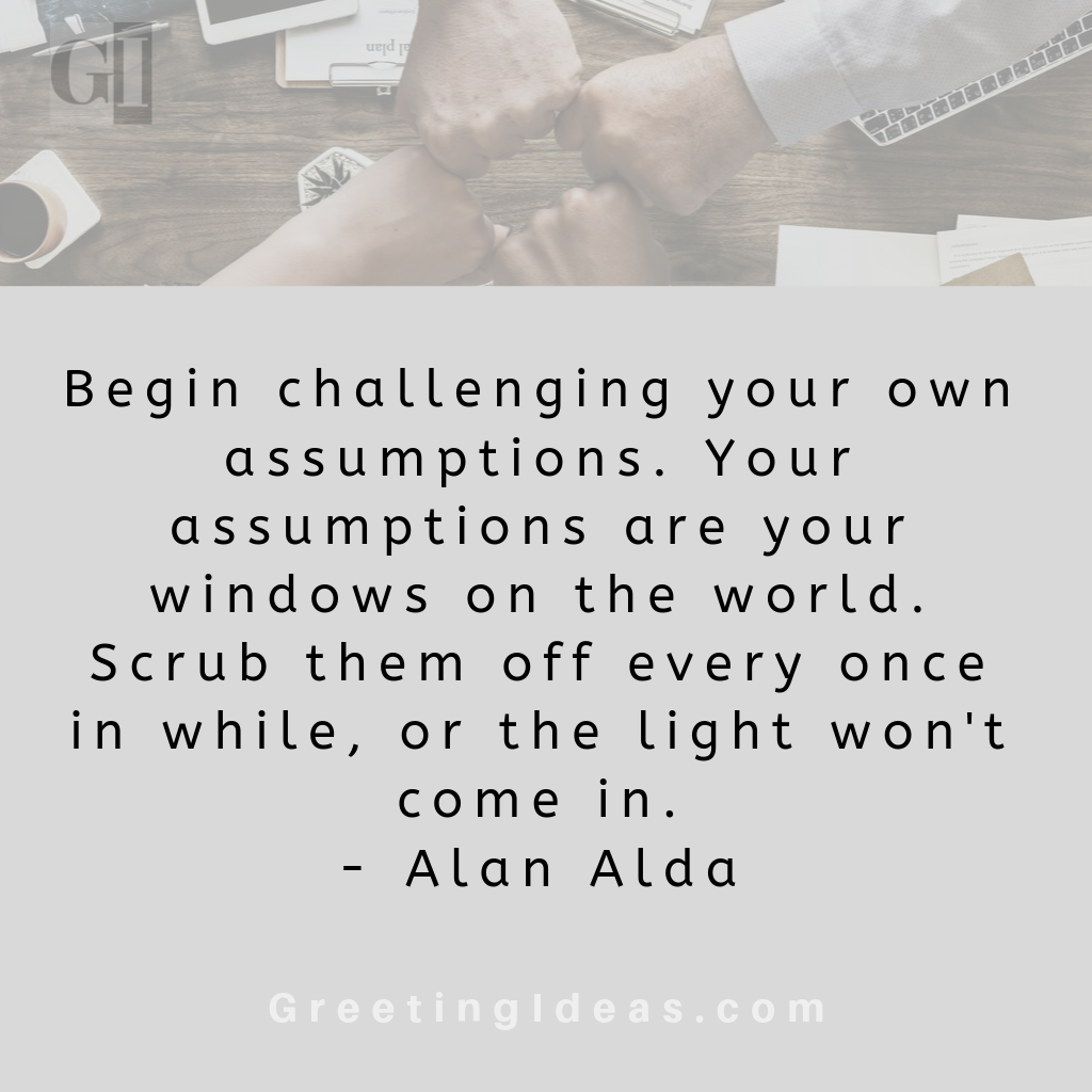 35+ Sarcastic Quotes about Assumptions: Assumption Quotes and Sayings