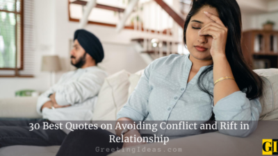 30 Best Avoiding Quotes on Conflict and Rift in Relationship