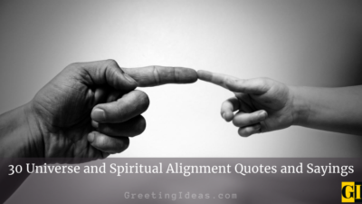 30 Universe and Spiritual Alignment Quotes and Sayings