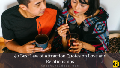 40 Best Law of Attraction Quotes on Love and Relationships