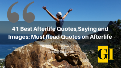 41 Best Afterlife Quotes, Sayings and Images : Must Read Quotes on Afterlife