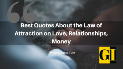 Best Quotes About the Law of Attraction on Love, Relationships, Money