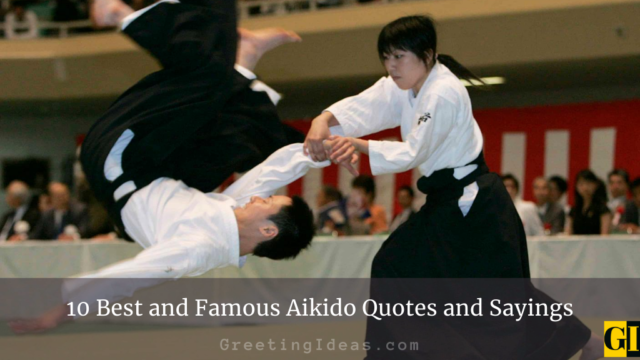 10 Best and Famous Aikido Quotes and Sayings