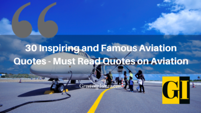 30 Inspiring and Famous Aviation Quotes – Must Read Quotes on Aviation