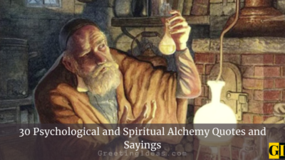 30 Psychological and Spiritual Alchemy Quotes and Sayings