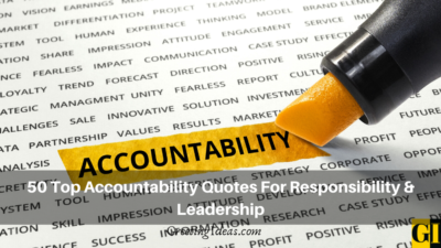 50 Top Accountability Quotes For Responsibility & Leadership