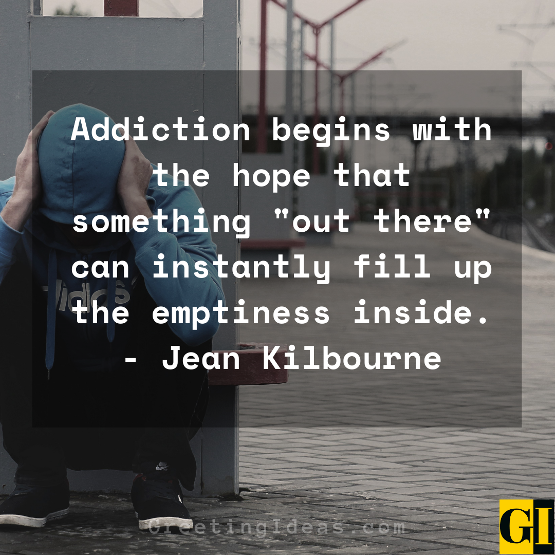 Addiction Quotes Greeting Ideas 1