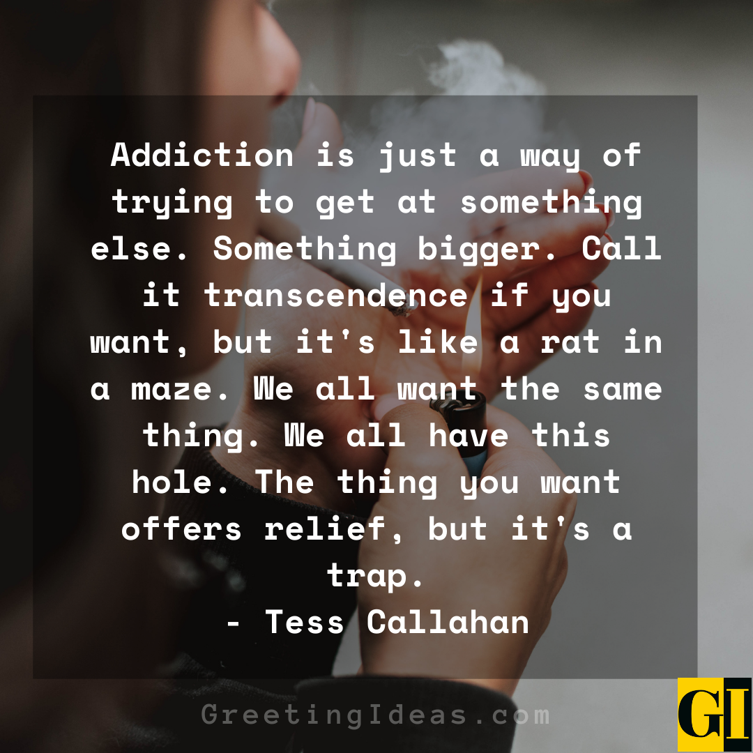 Addiction Quotes Greeting Ideas 3