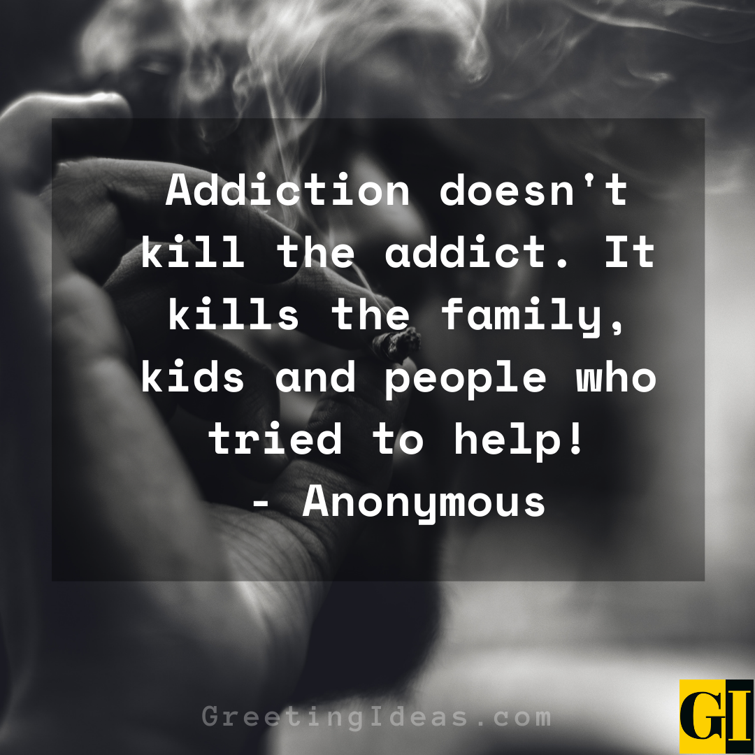Addiction Quotes Greeting Ideas 5