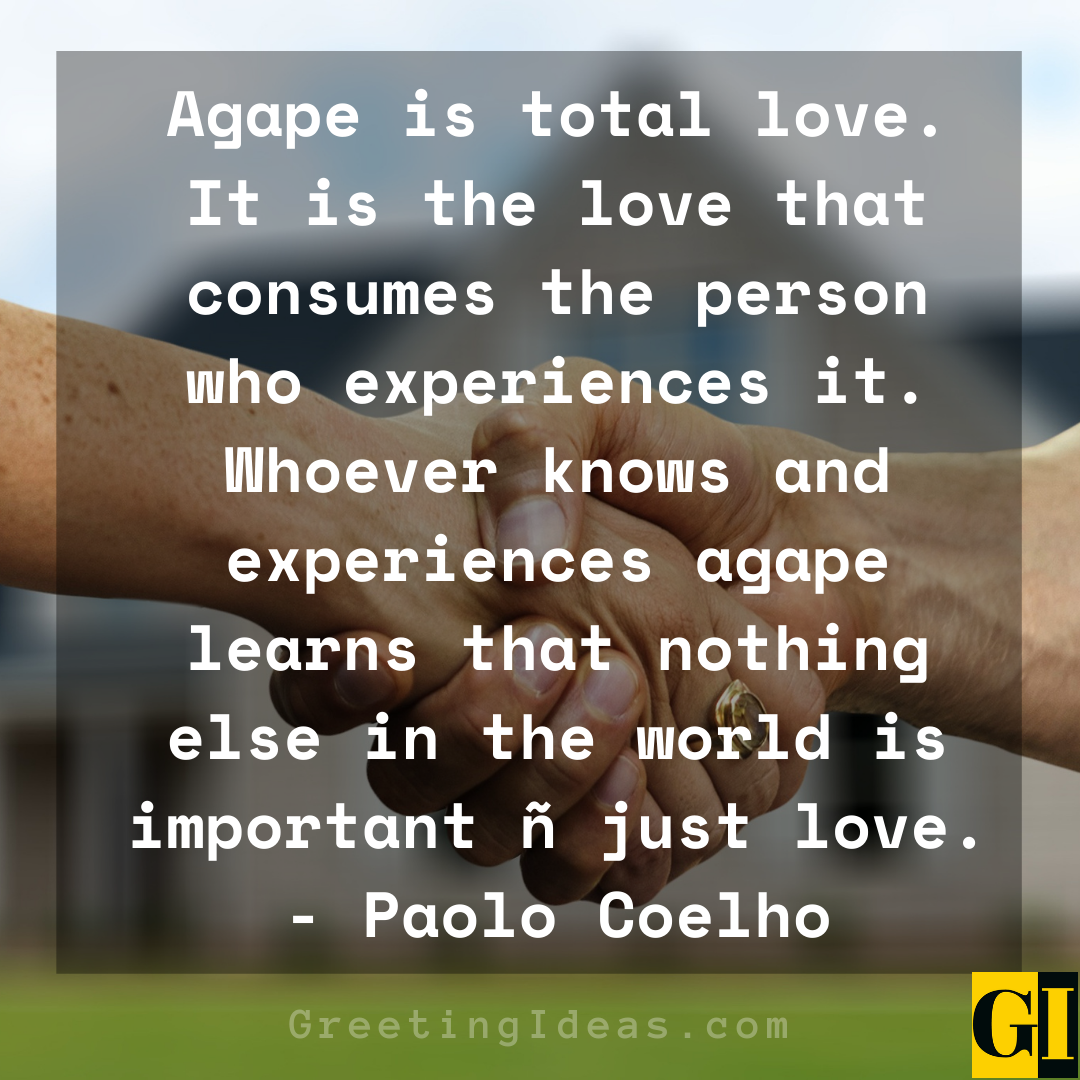 Agape Quotes Greeting Ideas 2