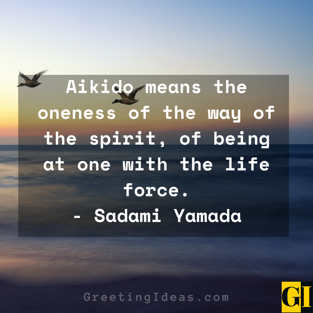 Aikido Quotes Greeting Ideas 1