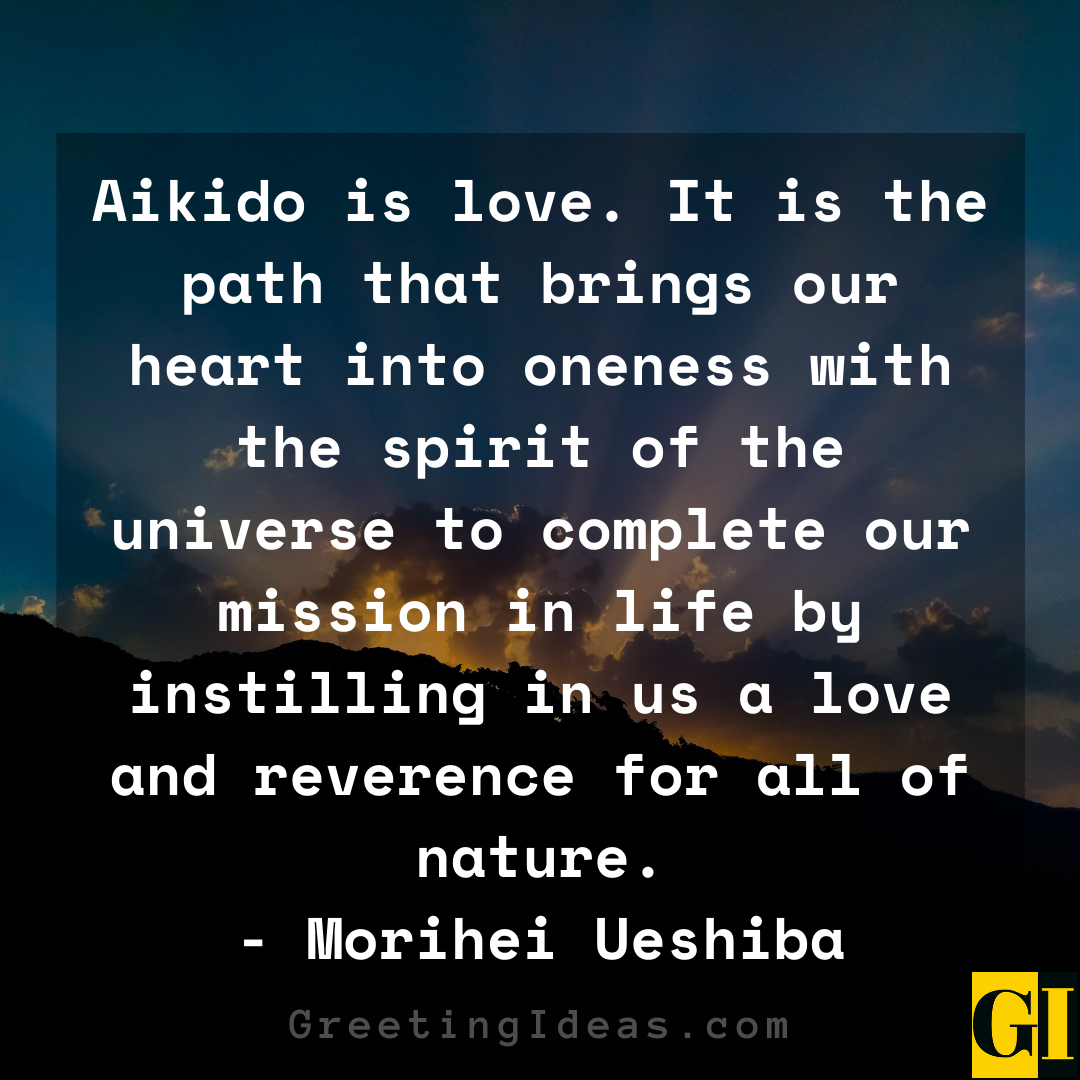 Aikido Quotes Greeting Ideas 2