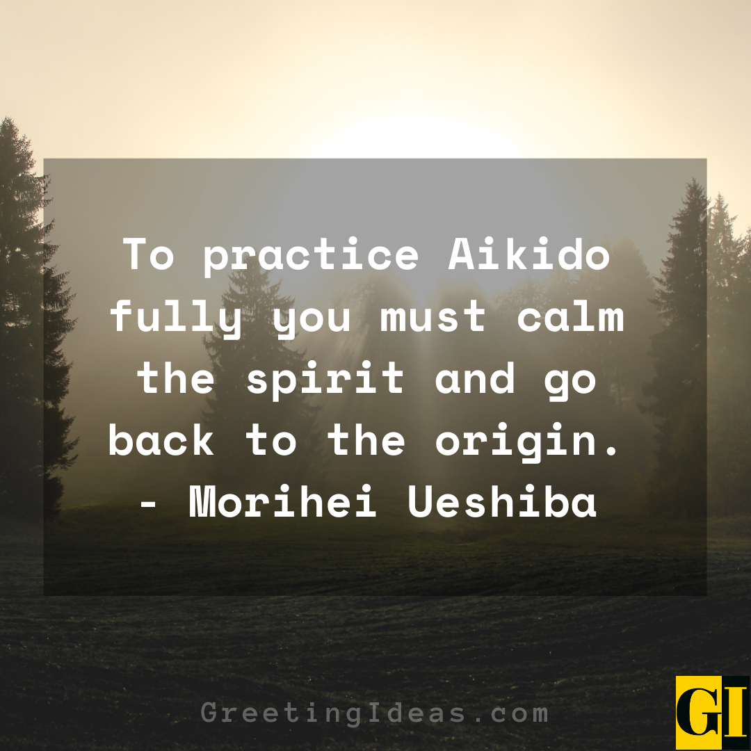 Aikido Quotes Greeting Ideas 3