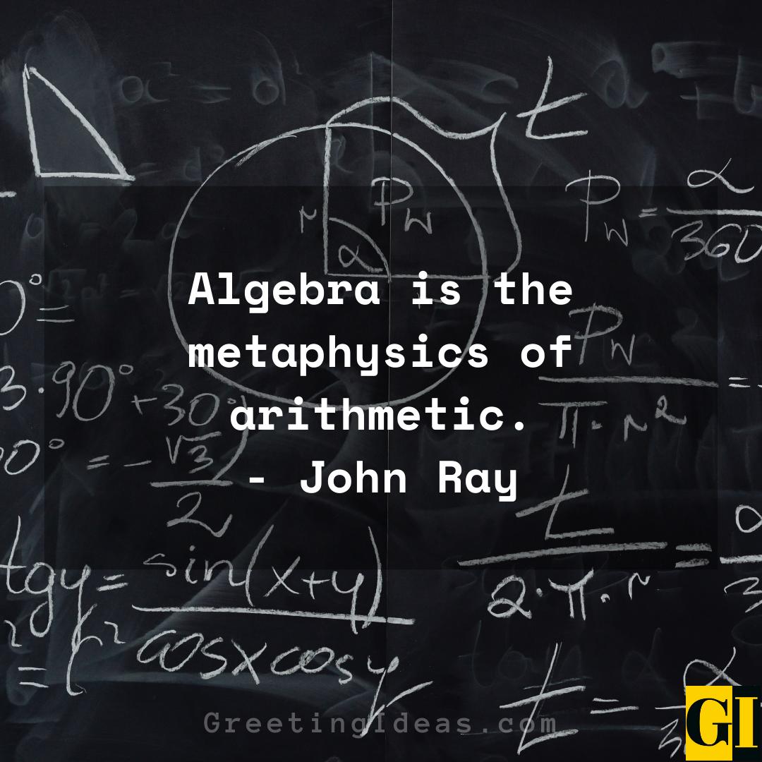 Algebra Quotes Greeting Ideas 1