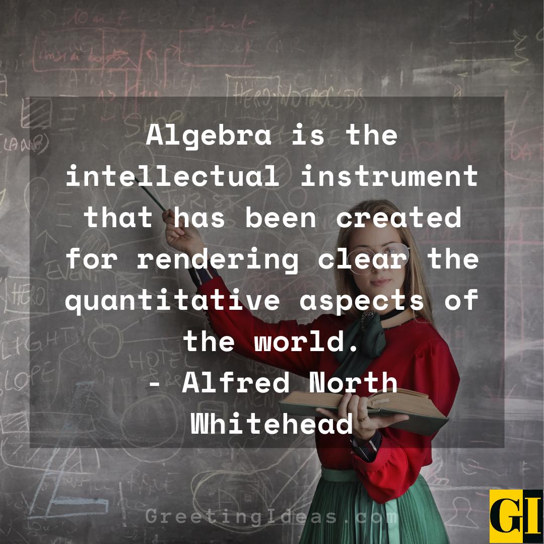 Algebra Quotes Greeting Ideas 4