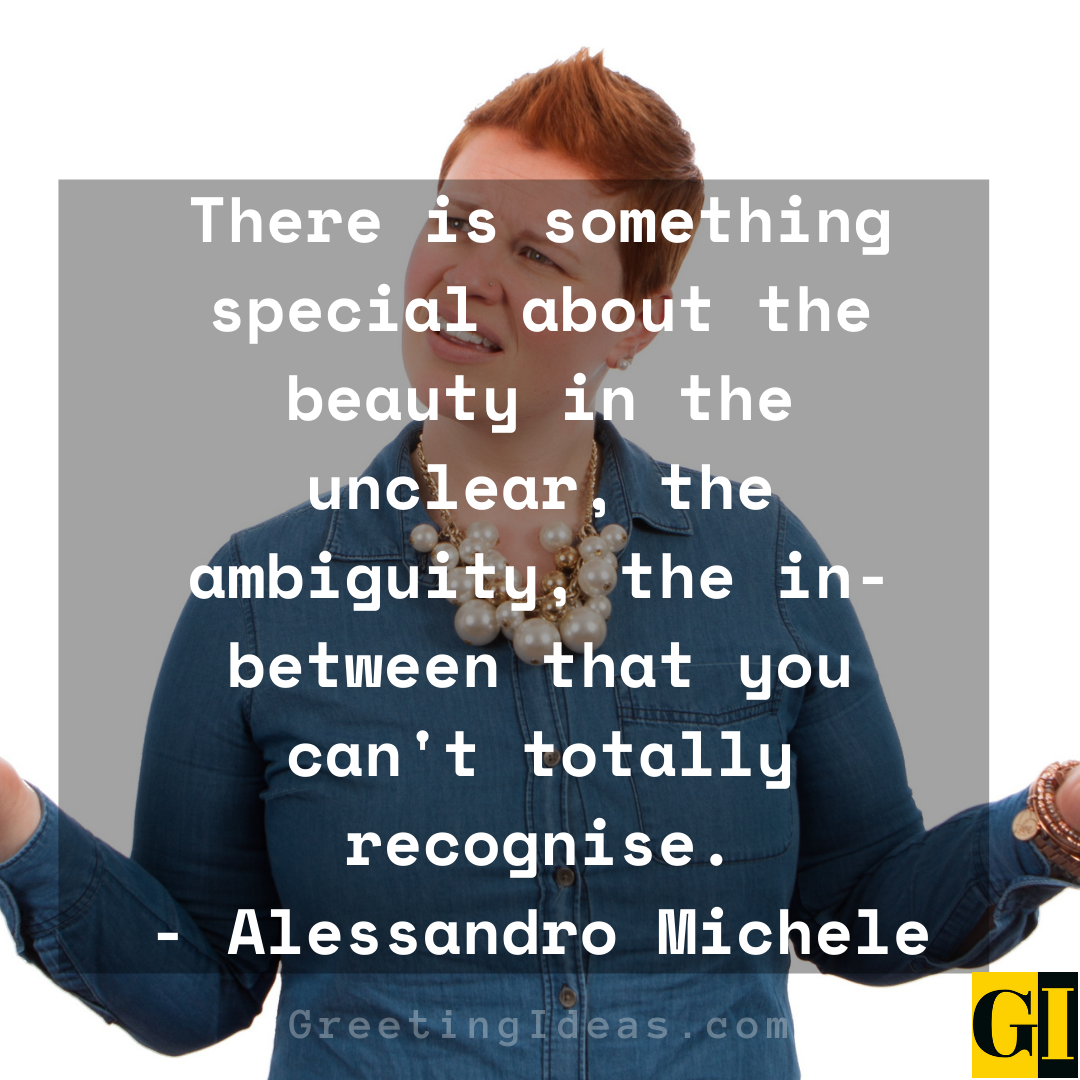 Ambiguity Quotes Greeting Ideas 5