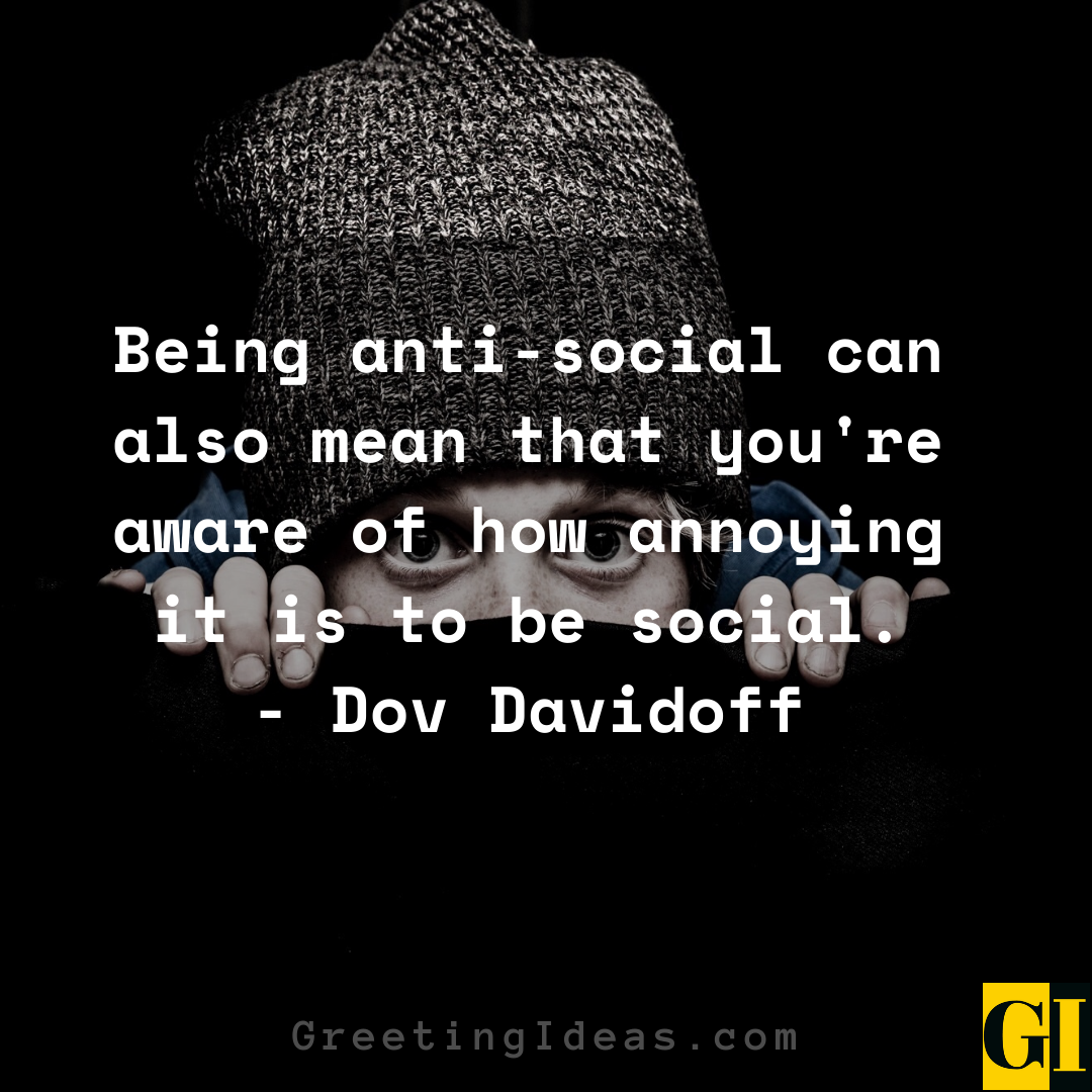 Anti Social Quotes Greeting Ideas 2