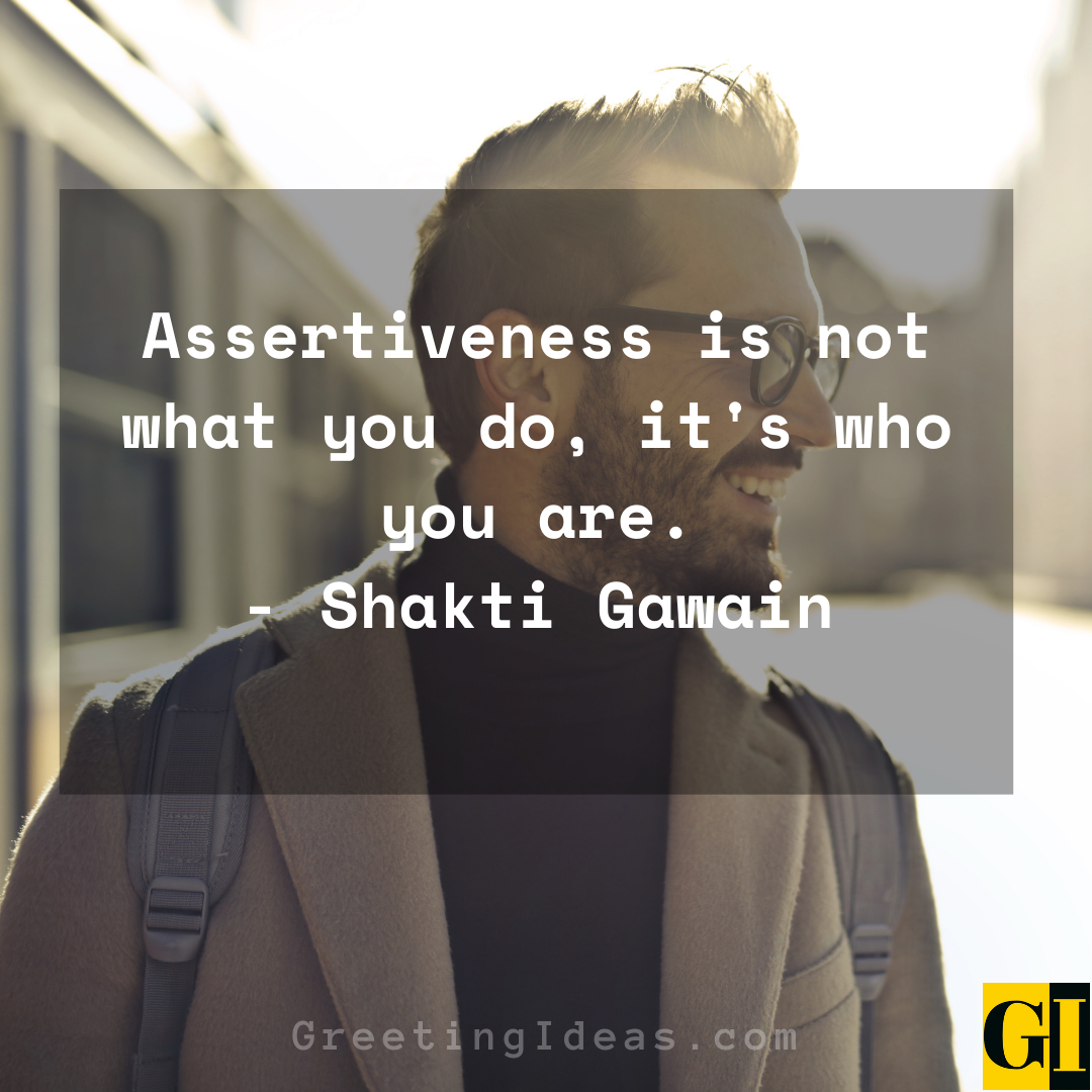 Assertive Quotes Greeting Ideas 4