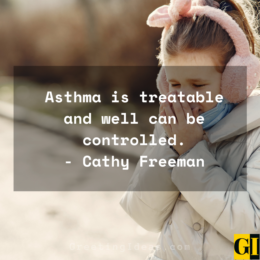 Asthma Quotes Greeting Ideas 2