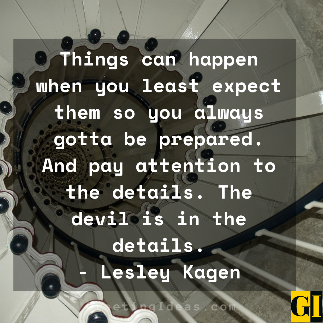 Attention to Detail Quotes Greeting Ideas 4
