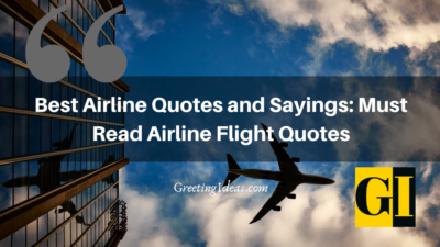 Best Airline Quotes and Sayings: Must Read Airline Flight Quotes