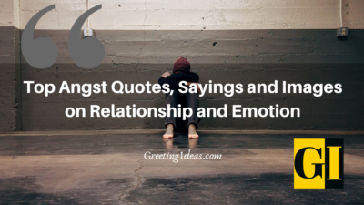 Top Angst Quotes, Sayings and Images on Relationship and Emotion