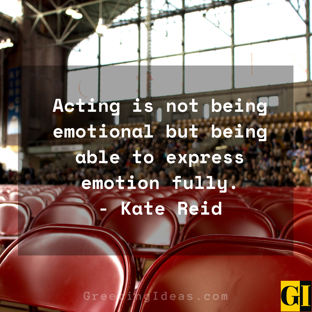 Acting Quotes Greeting Ideas 3