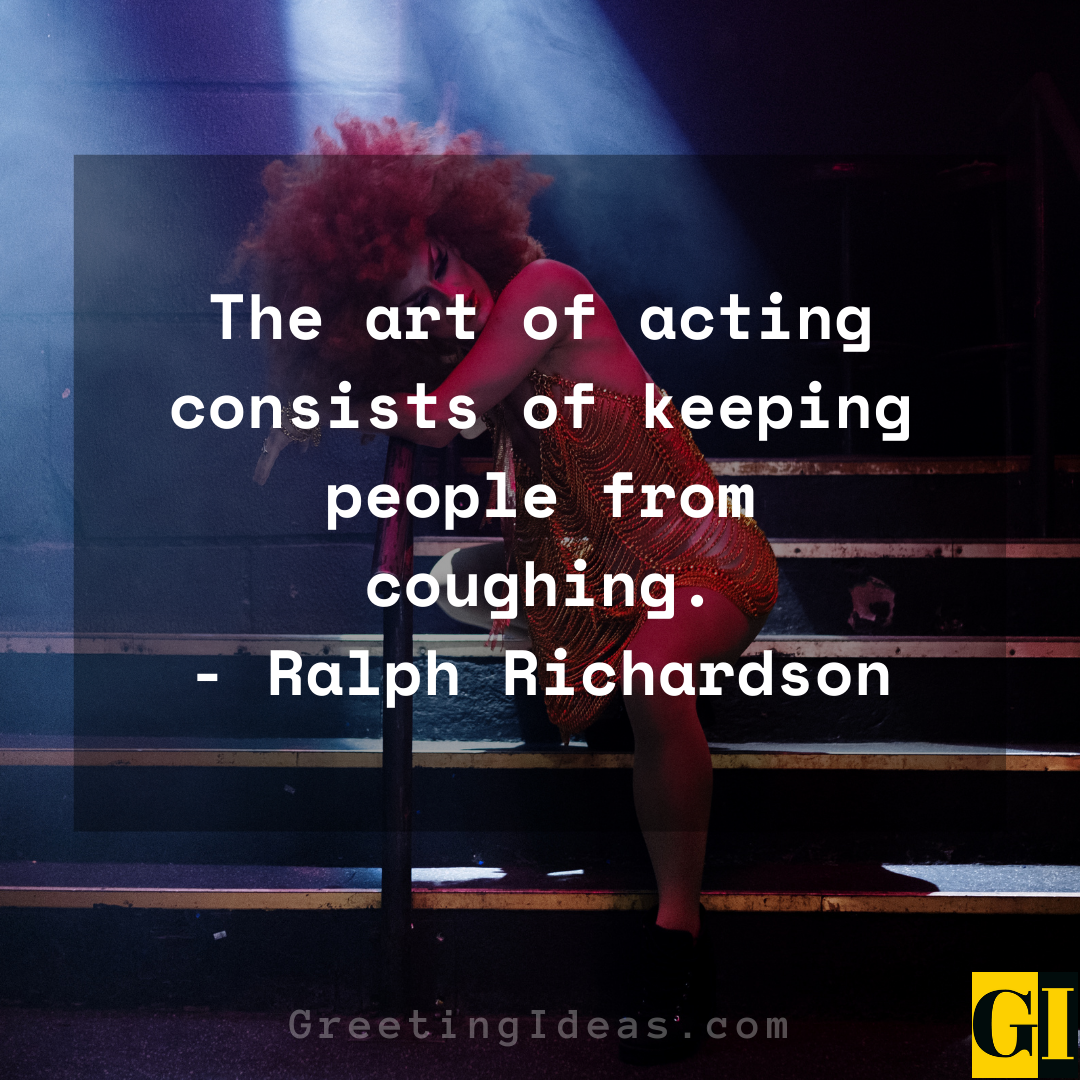 Acting Quotes Greeting Ideas 6