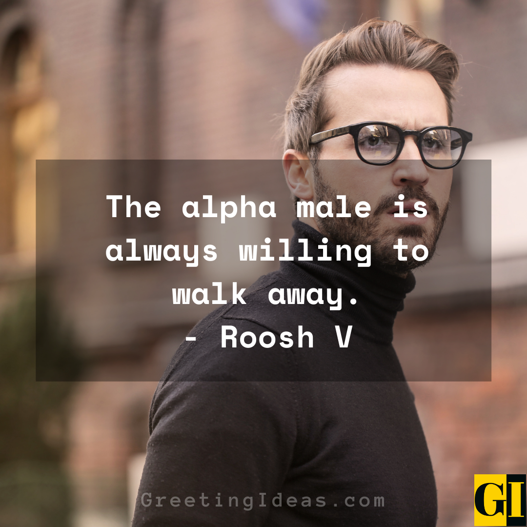 Alpha Male Quotes Greeting Ideas 1