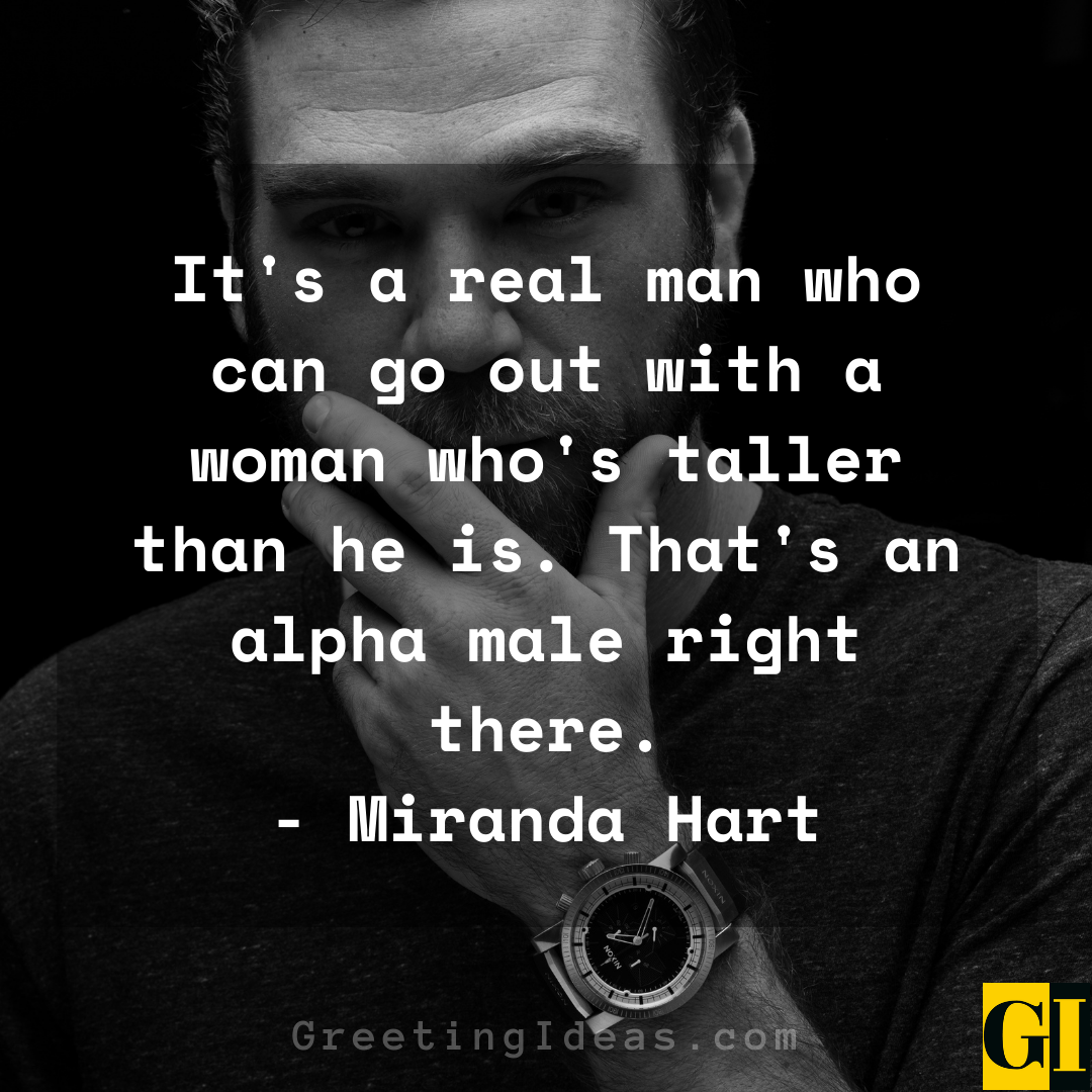 Alpha Male Quotes Greeting Ideas 2