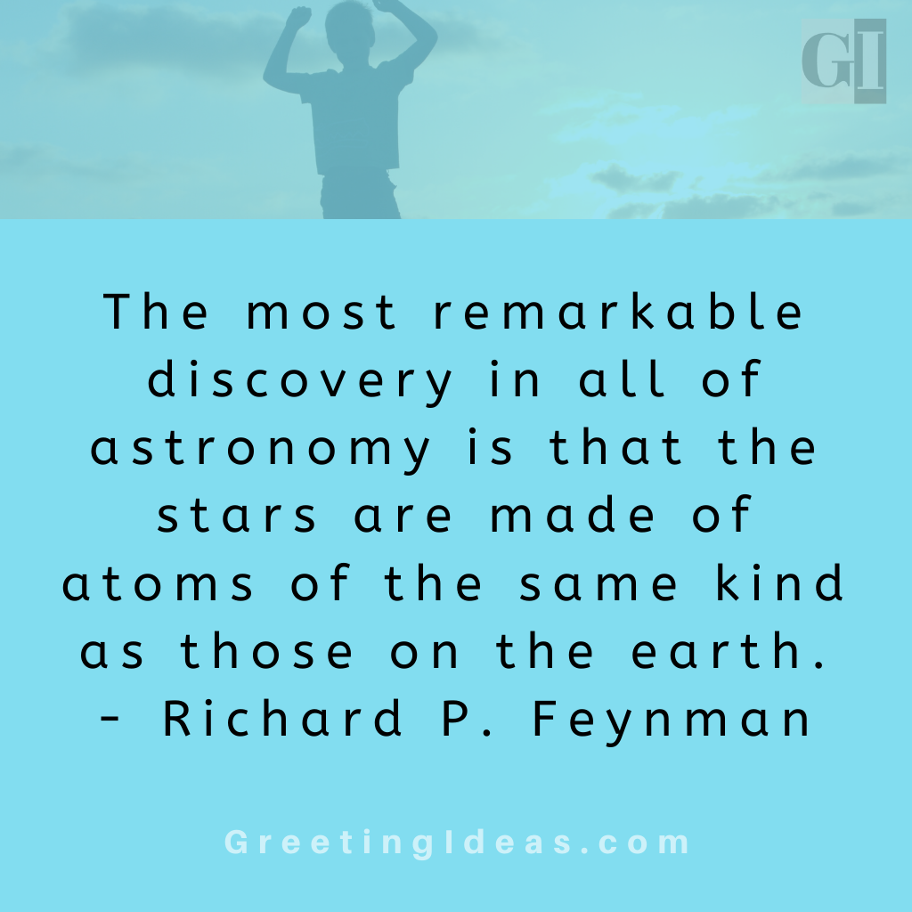 Astronomy Quotes Greeting Ideas 14