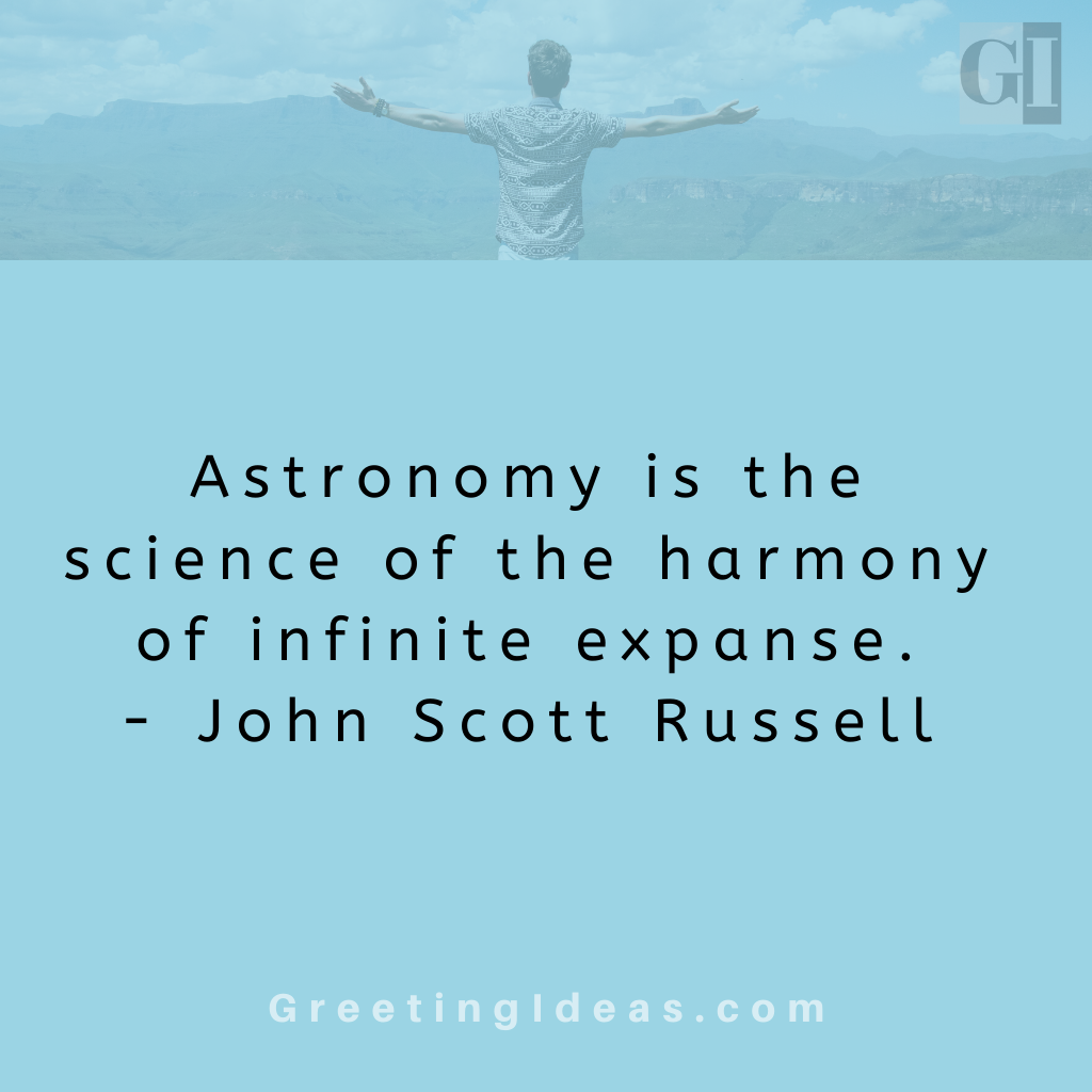 Astronomy Quotes Greeting Ideas 15