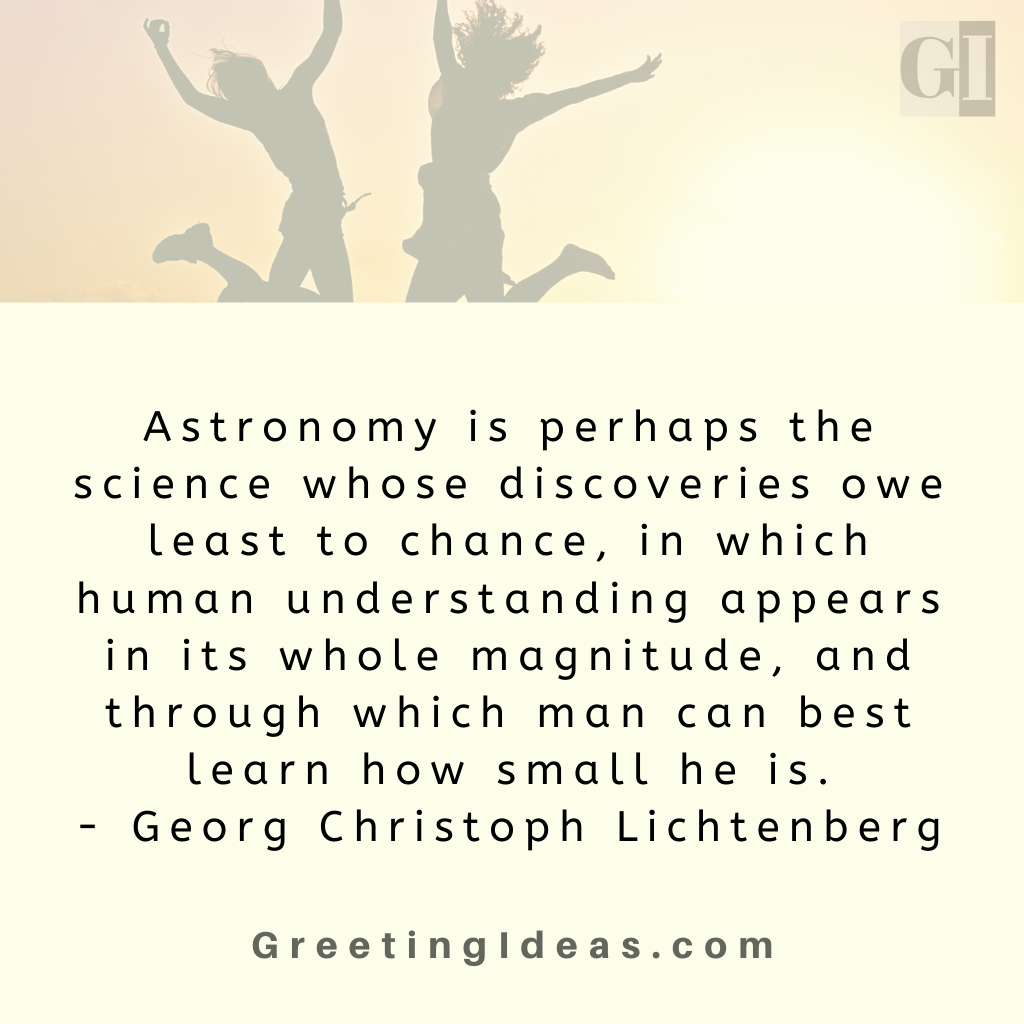 Astronomy Quotes Greeting Ideas 17
