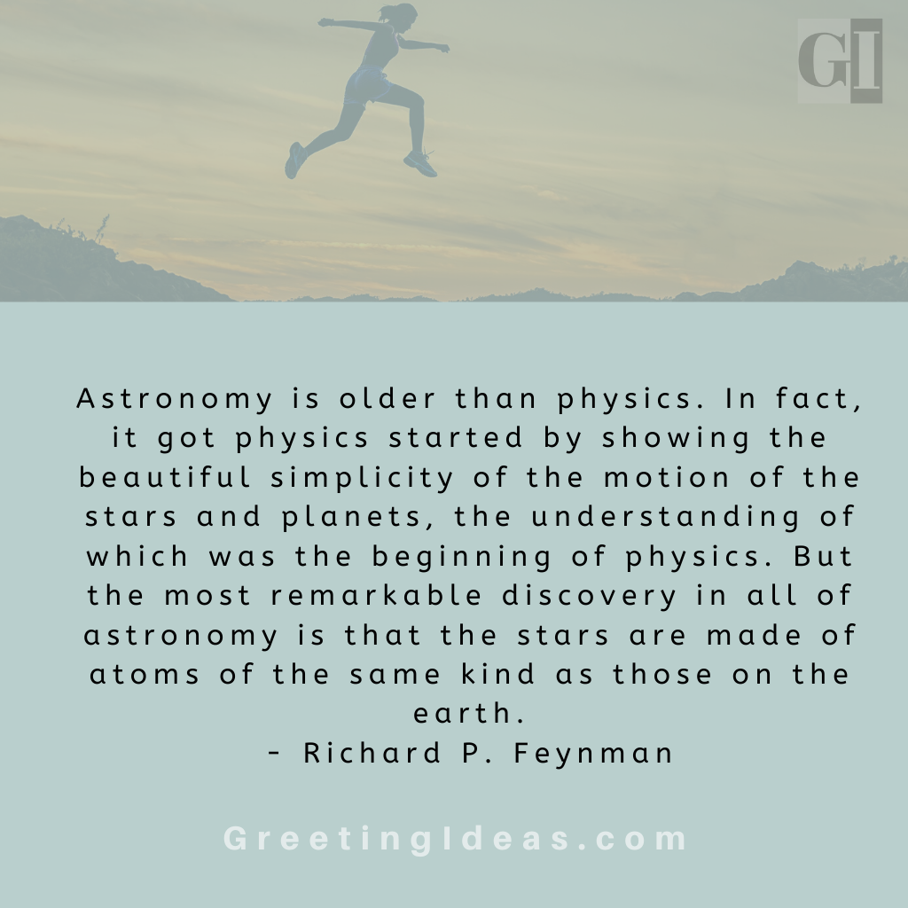 Astronomy Quotes Greeting Ideas 21