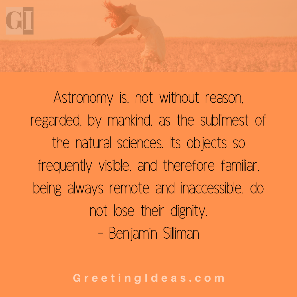 Astronomy Quotes Greeting Ideas 5