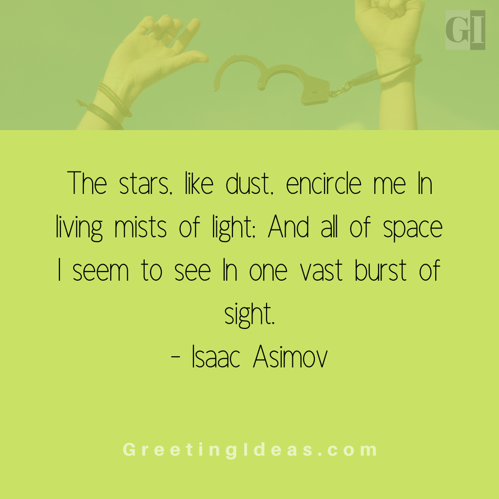 Astronomy Quotes Greeting Ideas 6