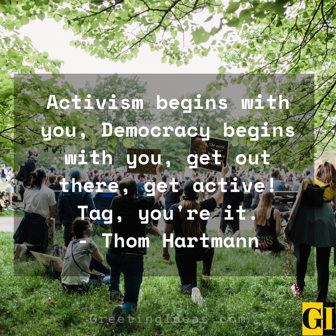 Activist Quotes Greeting Ideas 2