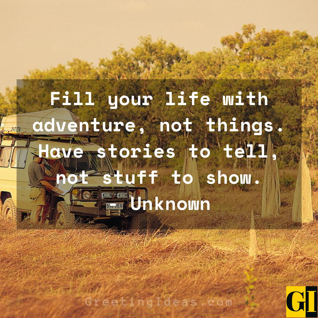 Adventurous Quotes Greeting Ideas 2