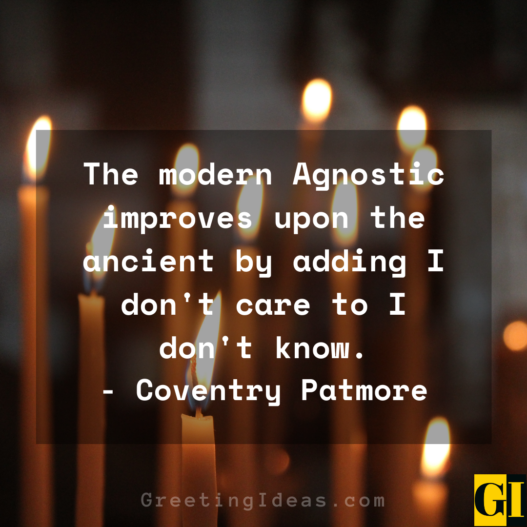 Agnostic Quotes Greeting Ideas 5
