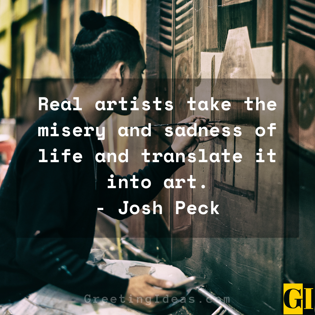 Artists Quotes Greeting Ideas 2
