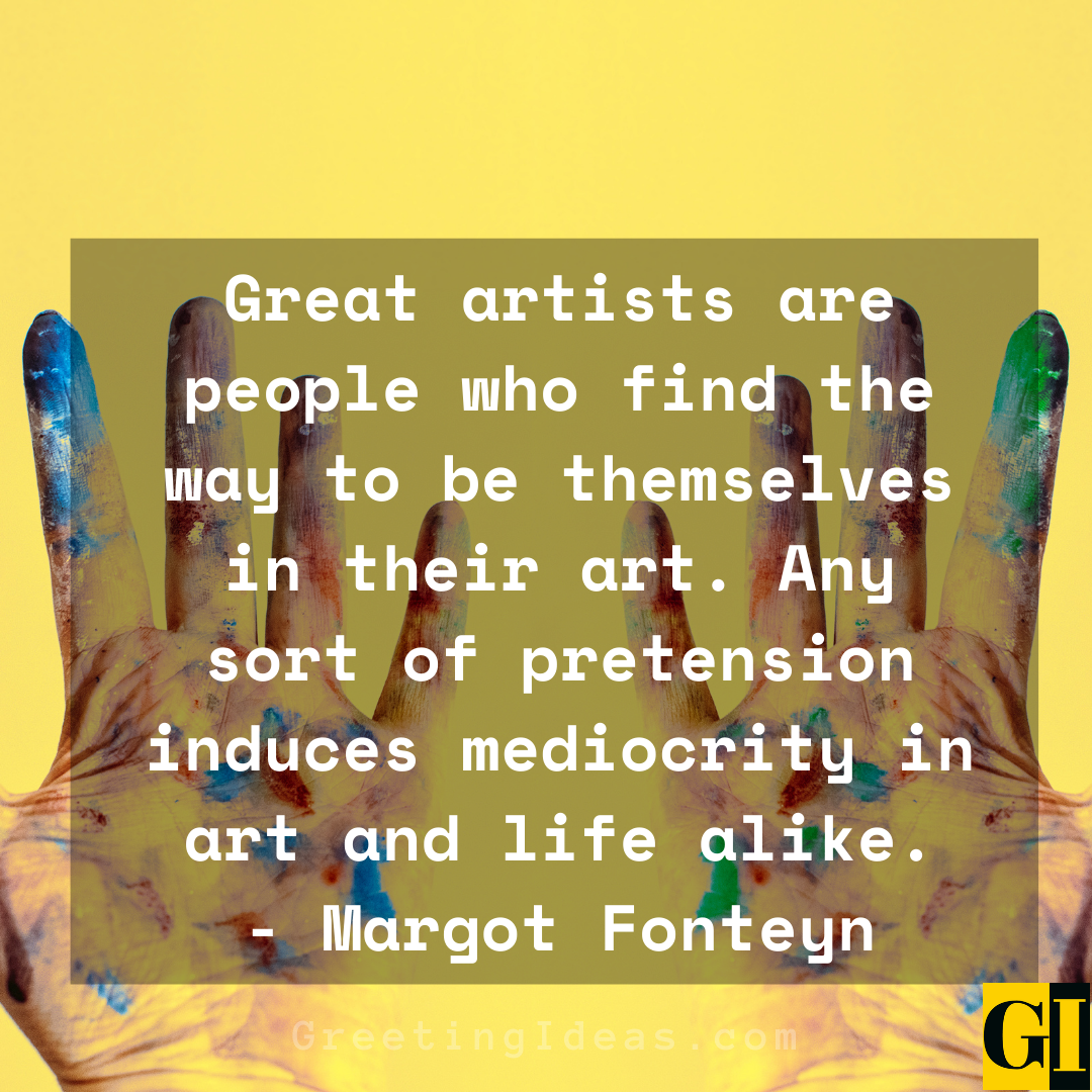 Artists Quotes Greeting Ideas 3