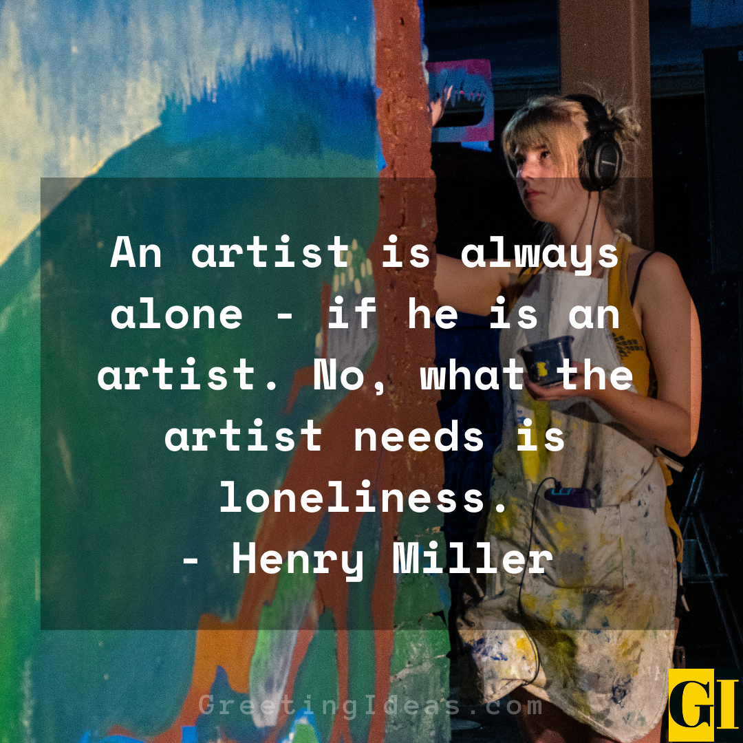 Artists Quotes Greeting Ideas 4