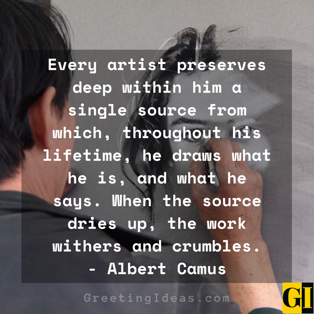 Artists Quotes Greeting Ideas 6