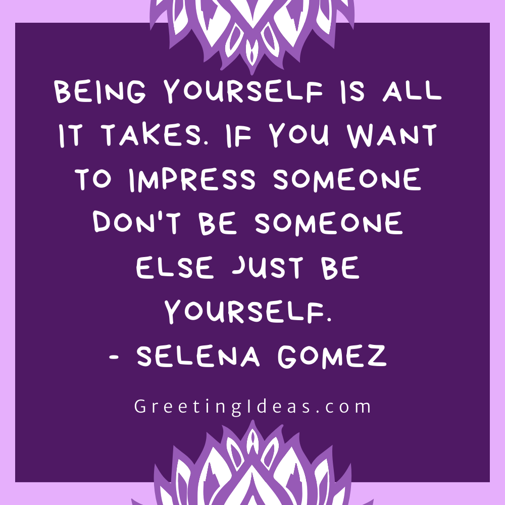 Being Real Quotes Greeting Ideas 23